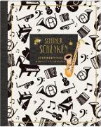 Geschenkpapier-Buch - Schöner schenken (All about music)
