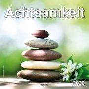 Monatskalender Poster Achtsamkeit 2020