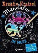 Kreativ-Kratzel Mandalas - Im Meer