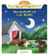 Mein Filzklappenbuch - Was versteckt sich in der Nacht?