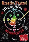 Kreativ-Kratzel Mandalas - Weihnachten