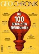 GEO Chronik 03/2018 - 100 genialsen Erfindungen