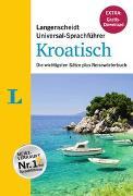 """Langenscheidt Universal-Sprachführer Kroatisch - Buch inklusive E-Book zum Thema """"Essen & Trinken"""""""