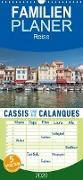 Cassis und die Calanques - Familienplaner hoch (Wandkalender 2020 , 21 cm x 45 cm, hoch)