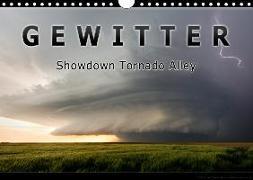 Gewitter - Showdown Tornado Alley (Wandkalender 2020 DIN A4 quer)