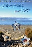 Watten-MEER und SEE (Tischkalender 2020 DIN A5 hoch)