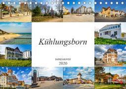 Kühlungsborn Impressionen (Tischkalender 2020 DIN A5 quer)