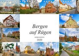 Bergen Auf Rügen Impressionen (Wandkalender 2020 DIN A4 quer)