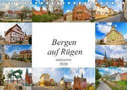 Bergen Auf Rügen Impressionen (Tischkalender 2020 DIN A5 quer)