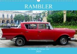 Rambler - Ein Oldtimer der Fünfziger Jahre (Wandkalender 2020 DIN A3 quer)