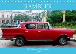 Rambler - Ein Oldtimer der Fünfziger Jahre (Tischkalender 2020 DIN A5 quer)