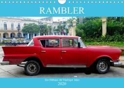 Rambler - Ein Oldtimer der Fünfziger Jahre (Wandkalender 2020 DIN A4 quer)