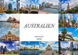 Australien Metropolen (Tischkalender 2020 DIN A5 quer)