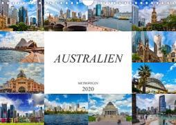 Australien Metropolen (Wandkalender 2020 DIN A4 quer)