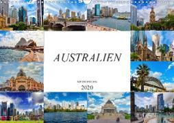 Australien Metropolen (Wandkalender 2020 DIN A3 quer)