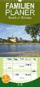 rund um Dessau - Familienplaner hoch (Wandkalender 2020 , 21 cm x 45 cm, hoch)