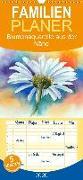 Blumenaquarelle aus der Nähe - Familienplaner hoch (Wandkalender 2020 , 21 cm x 45 cm, hoch)