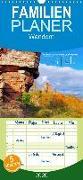 Trifels - Wanderung auf dem Annweilerer Burgenweg - Familienplaner hoch (Wandkalender 2020 , 21 cm x 45 cm, hoch)