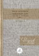 Violinkonzert (Skaldische Rhapsodie) Studienpartitur