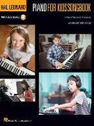 Hal Leonard Piano for Kids Songbook: 12 Popular Piano Solos for Beginners
