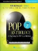 Pop Anthology - Book 2: 50 Pop Songs for All Piano Methods Early Intermediate - Intermediate