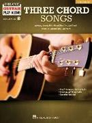 Three Chord Songs: Deluxe Guitar Play-Along Volume 12