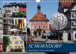Schorndorf, romantische Stadt an der Rems (Wandkalender 2020 DIN A4 quer)