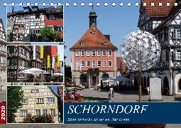 Schorndorf, romantische Stadt an der Rems (Tischkalender 2020 DIN A5 quer)