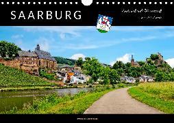 Saarburg - entzückende Weinstadt an der Saar (Wandkalender 2020 DIN A4 quer)