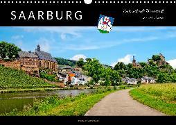 Saarburg - entzückende Weinstadt an der Saar (Wandkalender 2020 DIN A3 quer)
