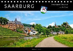 Saarburg - entzückende Weinstadt an der Saar (Tischkalender 2020 DIN A5 quer)