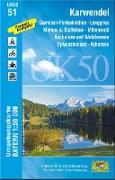 Karwendel 1 : 50 000 (UK50-51)