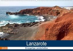 Lanzarote - Einzigartige Landschaften (Wandkalender 2020 DIN A2 quer)