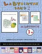 Labyrinth-Aktivitäten für die Vorschule (Band 2)