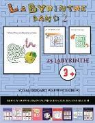 Vor-Kindergarten Labyrinth-Übung (Band 2)