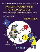 Arbeitsblätter für den Kindergarten (Zahlen, Farben und Formen)