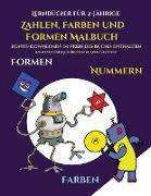 Lernbücher für 2-Jährige (Zahlen, Farben und Formen)