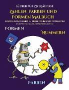 Bücher für Zweijährige (Zahlen, Farben und Formen)