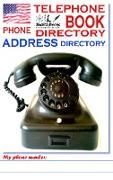 TELEPHONE PHONE BOOK ADDRESS DIRECTORY - Telefon - und Adressbuch