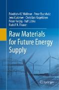 Raw Materials for Future Energy Supply