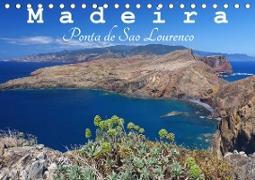Madeira Ponta de Sao Lourenco (Tischkalender 2020 DIN A5 quer)