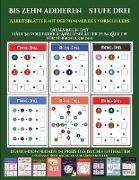 Zahlenspiele für Vorschulen (Bis zehn addieren - Stufe drei)