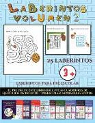 Laberintos para preescolar (Laberintos - Volumen 2)
