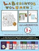 Ejercicios de laberintos para niños pequeños (Laberintos - Volumen 2)