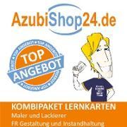 AzubiShop24.de Kombi-Paket Maler und Lackierer FR Gestaltung und Instandhaltung + Wirtschafts- und Sozialkunde