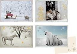 Mini-Adventskalender – Tiere im Schnee