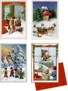 Mini-Adventskalender - Nostalgische Adventspost