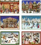 Miniatur-Adventskalender - Fröhliche Adventszeit