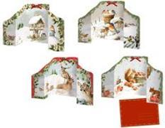 Mini-Adventskalender - Marjoleins Weihnachtspanorama