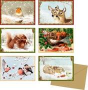 Miniatur-Adventskalender - Zauberhafte Winterzeit